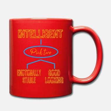 Affection Intelligent (Pick Two) Emotionally Stable Good - Full Colour Mug