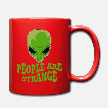 Strange Be strange even in the outer space with this - Full Colour Mug