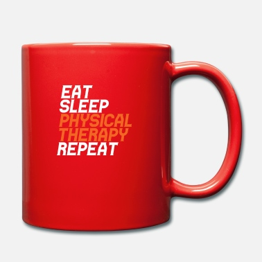 Physiotherapy Eat Sleep Physiotherapy Repeat - Full Colour Mug