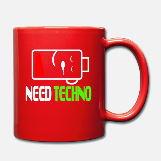 Distress Mugs & Drinkware - Stay alert and recharge with this cutie and - Mug red