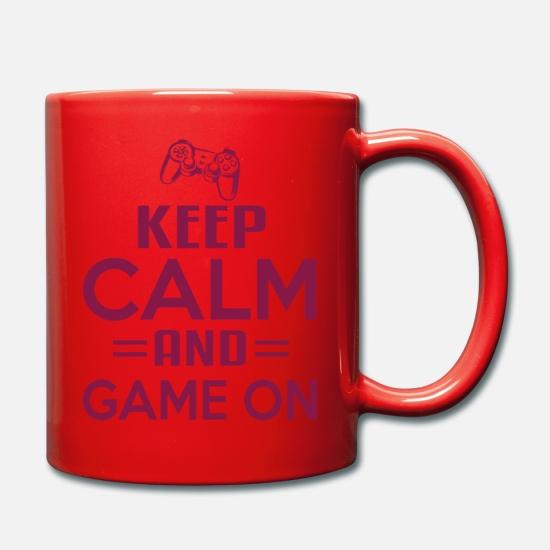 Hold'em Tassen & Becher - Gaming Konsole - Tasse Rot