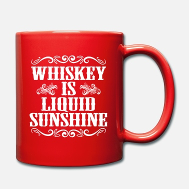 Licht Grappig en hilarisch Whiskey Is A Liquid Sunshine - Mok uni