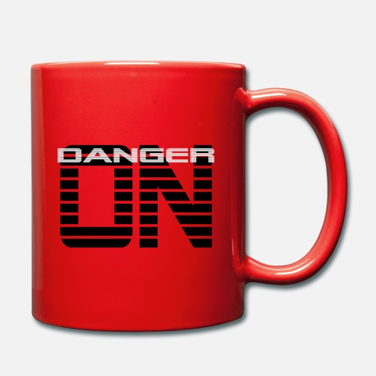 Gift Idea Mugs & Drinkware - Danger ON - Mug red