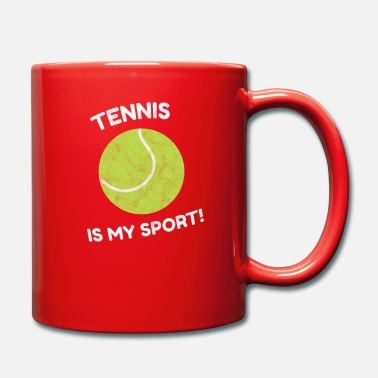 Set Tennis Is My Sport Sport Hobby Ball Gift - Mug