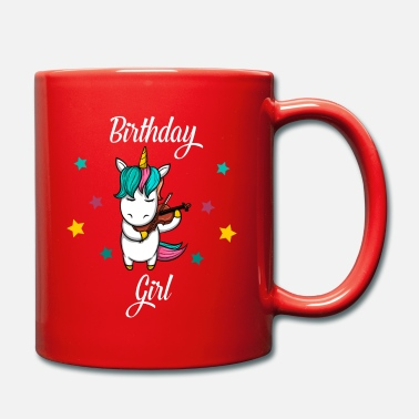 Star Unicorn plays violin violin gift birthday - Mug