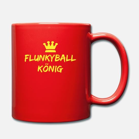 Birthday Mugs & Drinkware - flunkyball king - Mug red