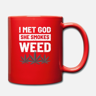 Stoner Weed Smoking Atheists - Mug