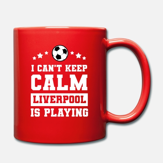 Liverpool Mugs & Drinkware - Soccer football Liverpool - Mug red
