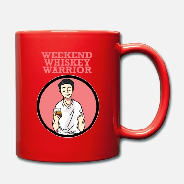 Bourbon Weekend Whiskey Warrior enjoyment - Mug