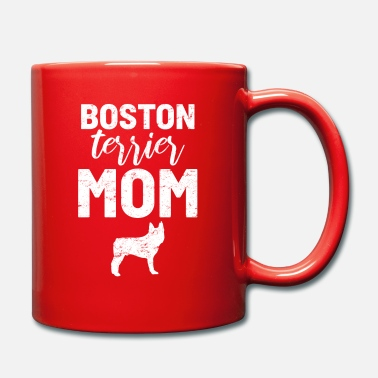 Exhibition Boston Terrier Dog Mom - Mug