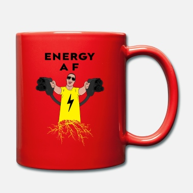 Cc Engine Electric Car Driver Energy AF Electric Car Shirt - Mug