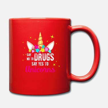 Tobacco Red Ribbon Week Say No Drugs Say Yes to Unicorns - Mug