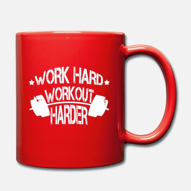 Workout Motivation Training Spruch - Tasse
