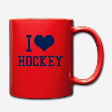Hockey Amo hockey - Taza