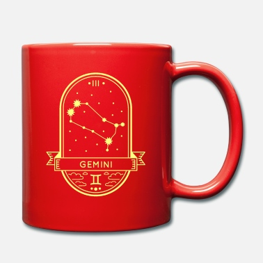 Forme Horoscope de la constellation du zodiaque Gemini Gemini - Mug