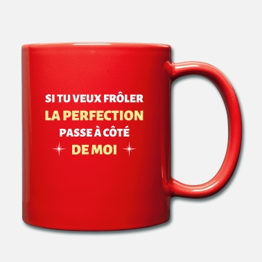 Idée t-shirt humour perfect frôler la perfection noel - Mug