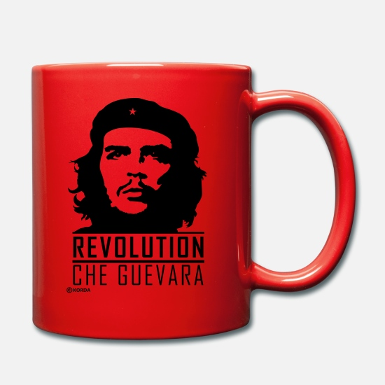 Che Mugs & Drinkware - Che Guevara Revolution Flex 2 Mug - Mug red