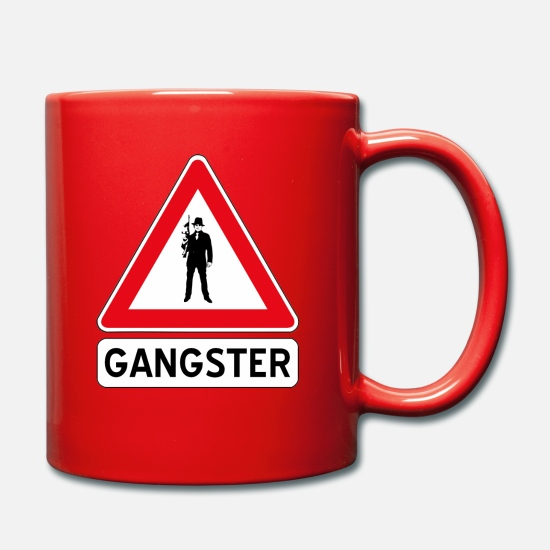 Miscellaneous Mugs & Drinkware - gangster - Mug red
