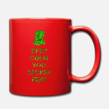 I Love KEEP CALM IRISH ON WHITE - Mug