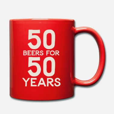 50 50 Beers For 50 Years - Mug