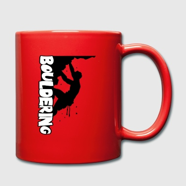 Wall Prints Sports Bouldering Print - Full Colour Mug
