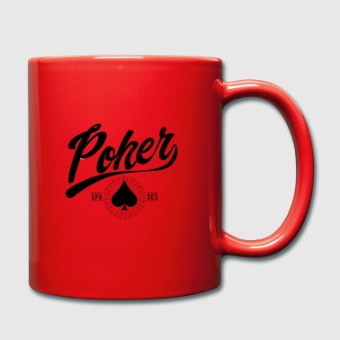 Poker Poker Card Poker Cool Pott Gambling Fun - Mug uni