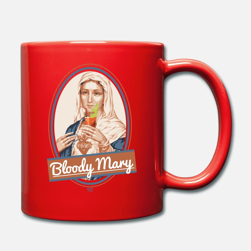 Bestsellers Q4 2018 Mugs & Drinkware - Bloody Mary and drink - Mug red