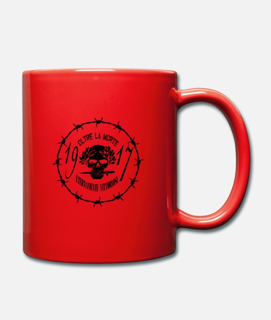 Christmas Mugs & Drinkware - Beyond death - Mug red