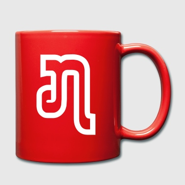 Lao / Laos Number / Numeral Seven 7 (Jed/Chet) - Full Colour Mug
