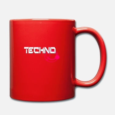 Music Techno Music Music Patch Design - Mug