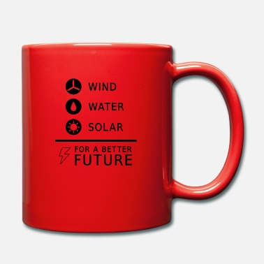 Renewable Energy Climate change saying renewable energy gift - Full Colour Mug