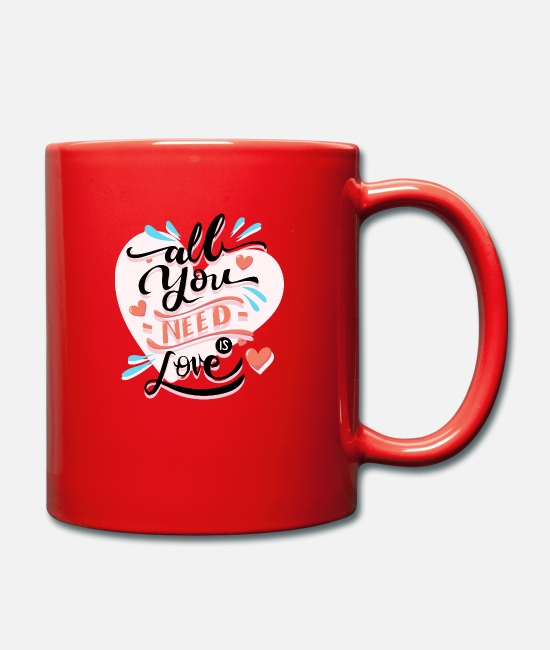 Renner Mugs & Drinkware - Valentine's Day - Mug red