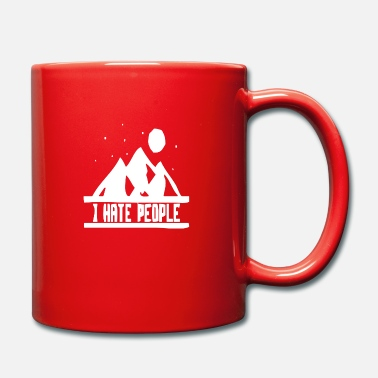 Hill Billy Natur hill berg berge wandern funny fun - Tasse