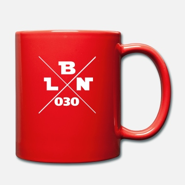 Bln bln 030 Berlin 030 - Full Colour Mug