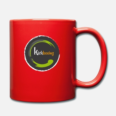 Kick Boxing kick boxing - Full Colour Mug