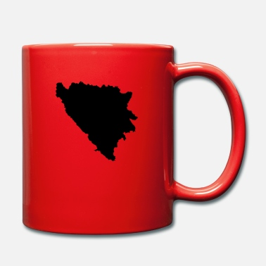 Map Bosnia and Herzegovina map map - Mug