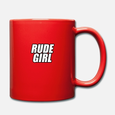 Rude Girl Rude girl knows with contour - Mug