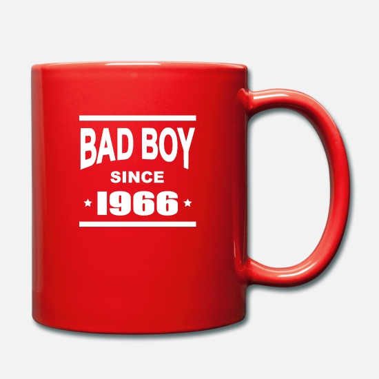 Fête Mugs et récipients - Bad boy since 1966 - Mug rouge