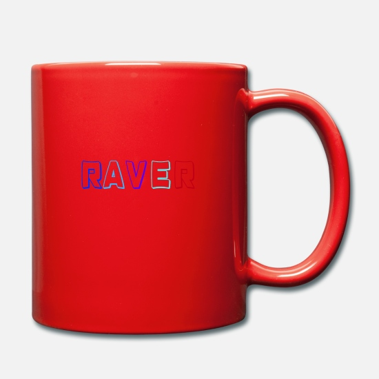 Comedian Mugs & Drinkware - Raver - Mug red
