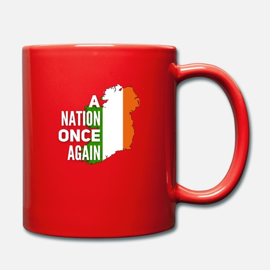Irish Mugs & Drinkware - Ireland - Mug red