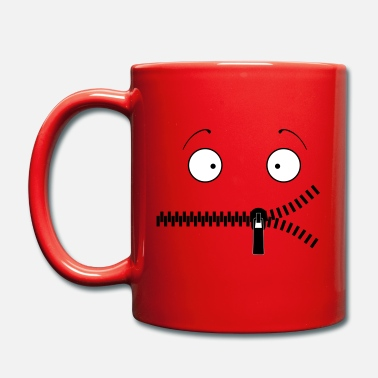 Zipper mouth - Mug