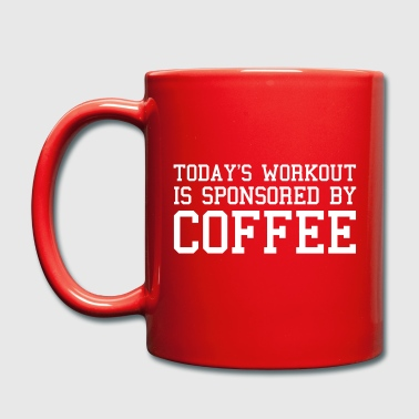 Today's Workout Gym Quote - Full Colour Mug