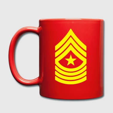 Sergeant Major SgtMaj, Mision Militar ™ - Taza de un color