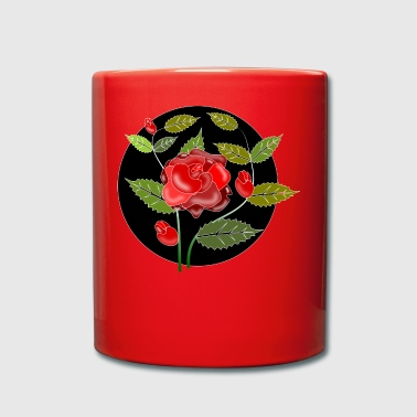 Red rose - Full Colour Mug