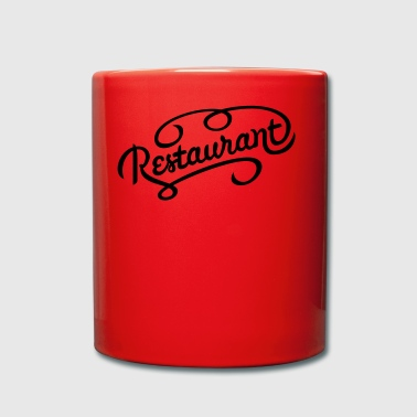 restaurant - Full Colour Mug