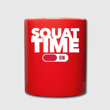 Squat Time - Fitness - Workout - Tasse einfarbig
