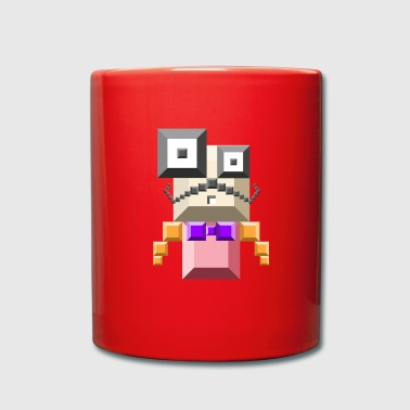 hipster robbo - Full Colour Mug