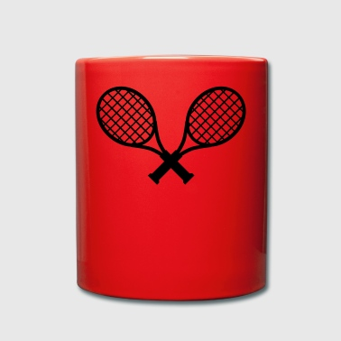 Tennis / tennis rackets - Full Colour Mug
