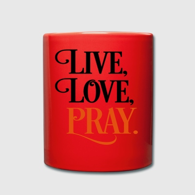 2541614 15903118 pray - Full Colour Mug