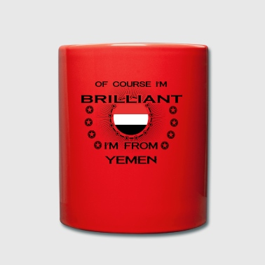 I AM GENIUS BRILLIANT CLEVER YEMEN - Full Colour Mug